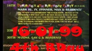 Dj Max Uprising 16 01 99 4th B'Day